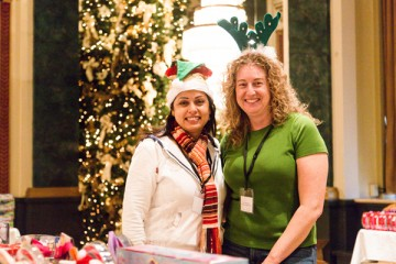Volunteers, Holiday Season Celebration