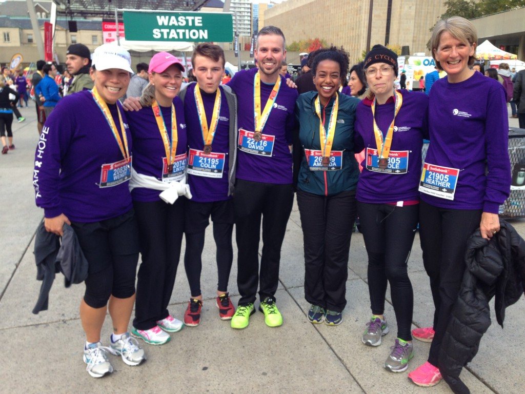 STWM 2015_Wendy Linton Colin David Amanda Nicole G  Heather post-race_1 (2)