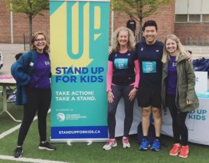 Staff and volunteers at Yorkville Run 2018