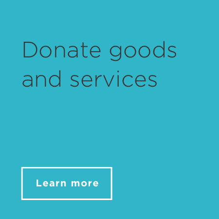Donate goods and services