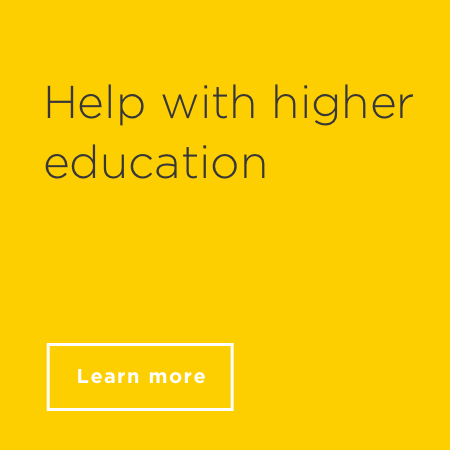 Help with higher education