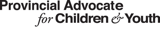 Provincial Advocate for Children and Youth