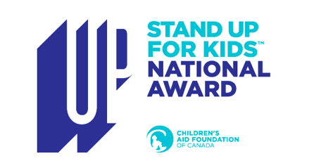stand up for kids award logo