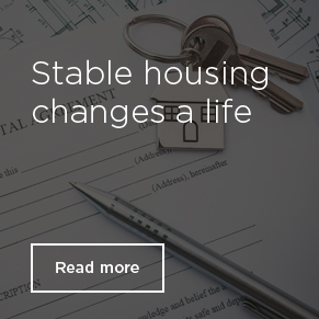 Stable housing changes a life