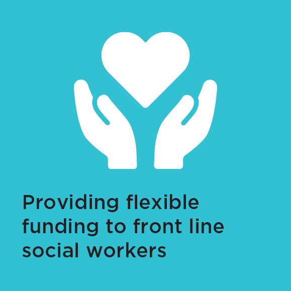 Flexible funding for front line social workers